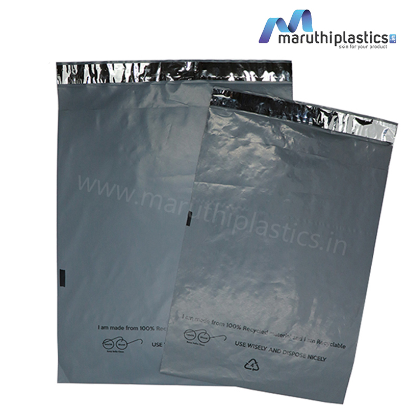 Recycled Courier Bags without POD Jacket - 51 Microns
