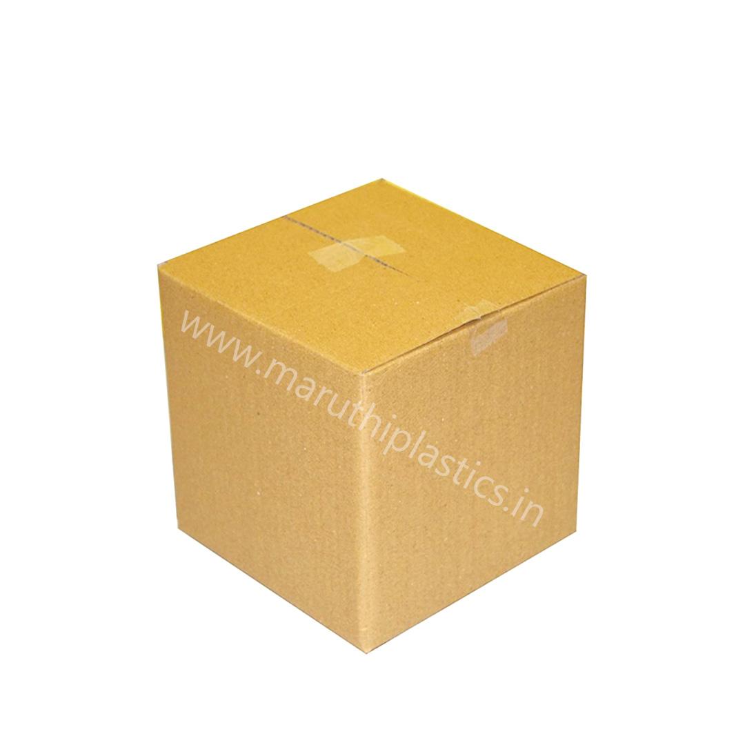 Corrugated Box A3 - 5.3 x 5.3 x 5.3 Inches