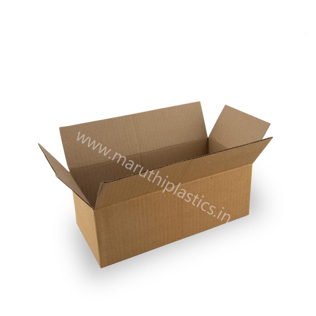 Corrugated Box B0 - 7.5 x 4.5 x 3.5 Inches